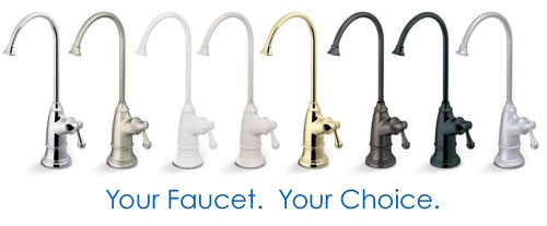Choose From Many Custom Faucets