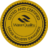 Water Quality Assiciation Rested and Certified Under Industry Standards